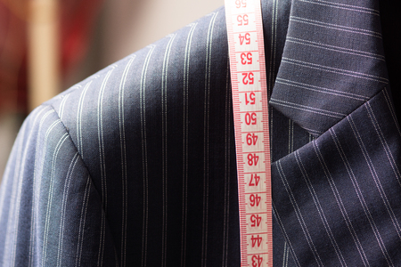 Tailoring Concept. High resolution image for tailoring industry. Stock Photo