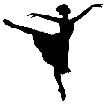 classical dancer: Ballerina