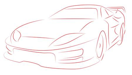 Sports car Stock Vector - 9674867