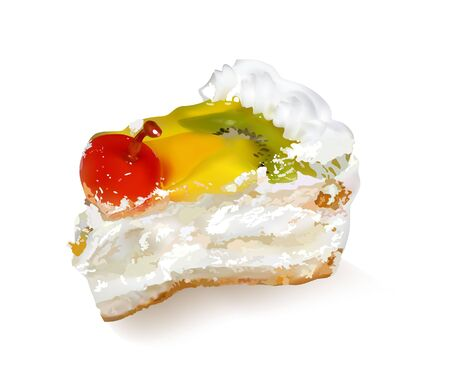 fruit cake Stock Vector - 10683135