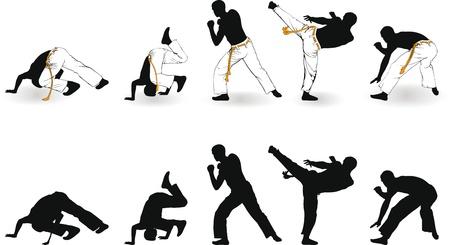 capoeira Ilustração