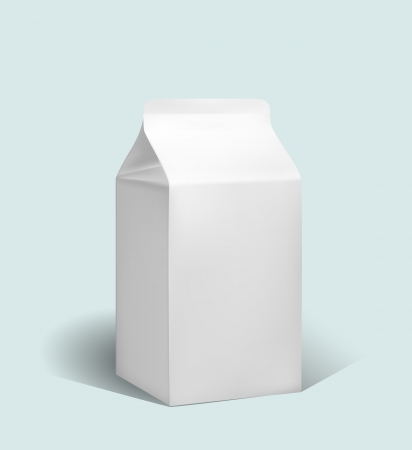 box of milk Vector