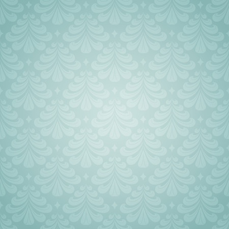 Seamless Christmas pattern in the classical style. Illustration