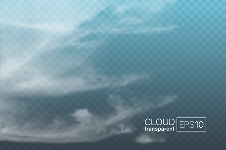 realistic spindrift cloud Stock Vector - 104553119