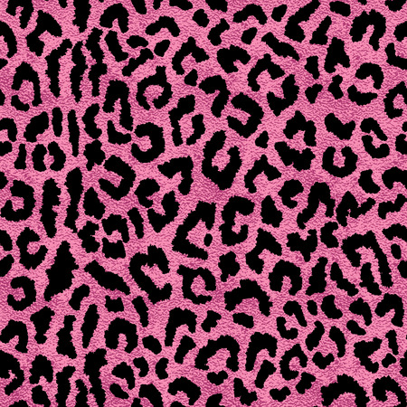 Seamless pink leopard skin pattern. Glamorous leopard skin print, texture, background.