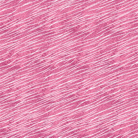 Pink metallic animal print. Stylized animal fur seamless pattern.