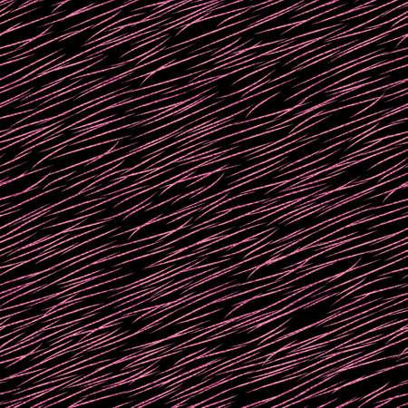Pink metallic animal print. Stylized animal fur seamless pattern.
