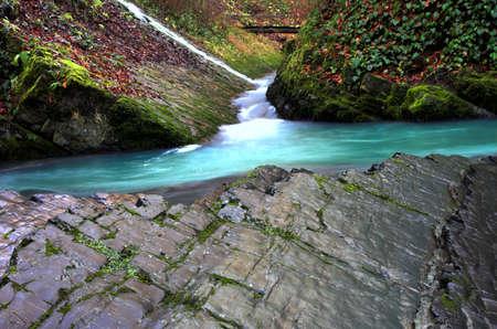 Fall, 2 sec. exposure Stock Photo - 350039