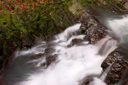 Cascade steps and moss Stock Photo - 357838