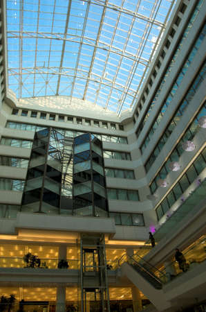shopping centre: Shopping centre inside