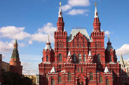 The museum of Russian history, Red square, Moscow, Russia photo