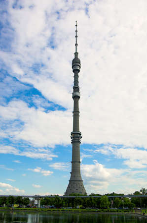 conection: Ostankino TV tower, Moscow