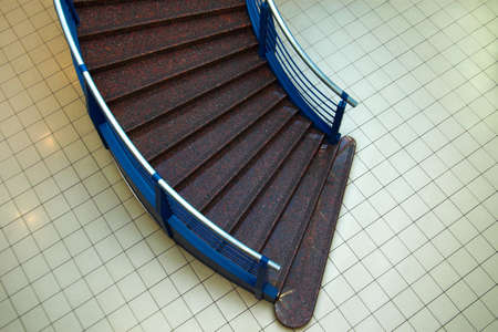 Broun stair in the mall photo