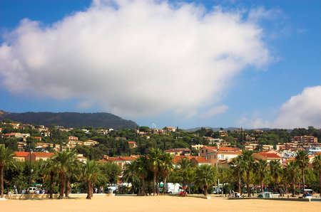 Landscape in the Coted Azur, France photo