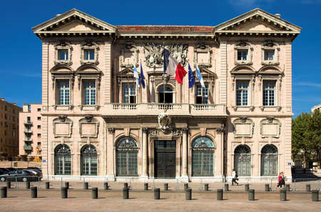 Town hall in Marseille, France