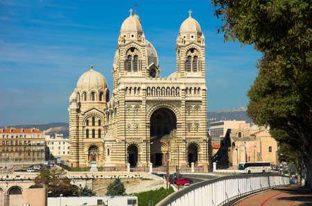 garde: Notre-Dame de la Garde basilica in Marseille, France
