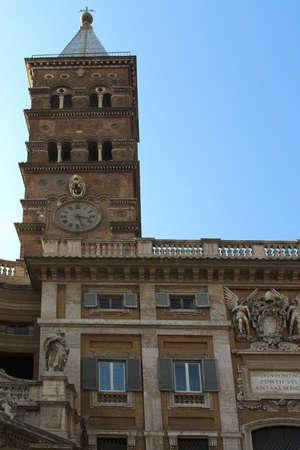 pilasters:  Basilica di Santa Maria Maggiore (Bergamo),Rome, Italy Stock Photo