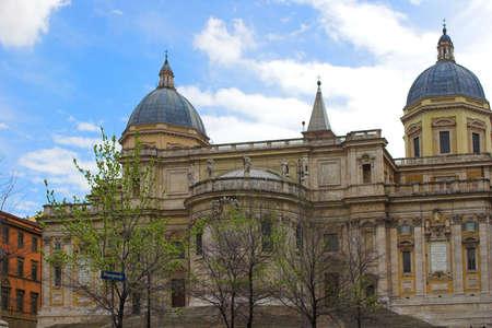 fuga: Basilica di Santa Maria Maggiore (Bergamo),Rome, Italy