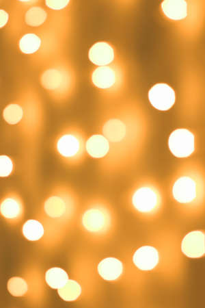 Gold spots bokeh background Stock Photo - 2102982