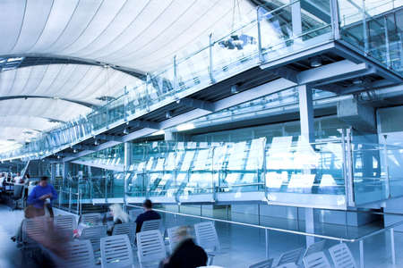 waiting room,  place in airport photo