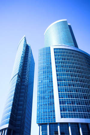 New skyscrapers business centre in moscow city, russia Stock Photo - 3021360