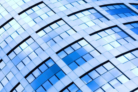 Abstract diagonal crop of office skyscraper Stock Photo - 3179409