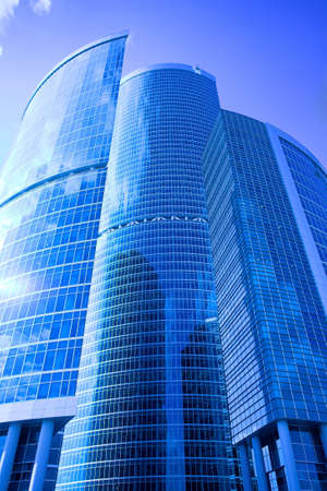 New skyscrapers business centre in moscow city, russia Stock Photo