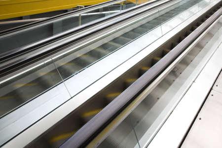 Move escalator in modern office centre Stock Photo - 3179268