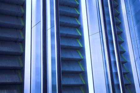 Move escalator in modern office centre Stock Photo - 3272088
