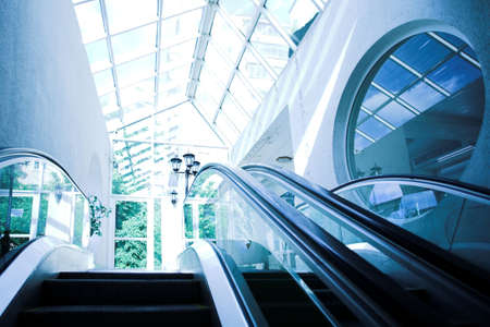 Move escalator in modern office centre Stock Photo - 3305221