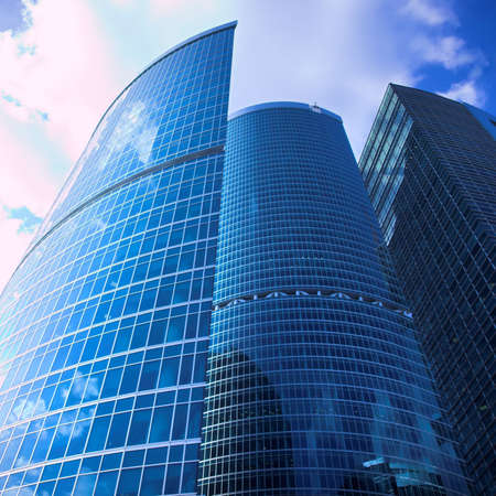 business centre: New skyscrapers business centre in moscow city, russia Stock Photo