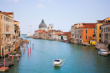 Venice grand channel, Italy photo