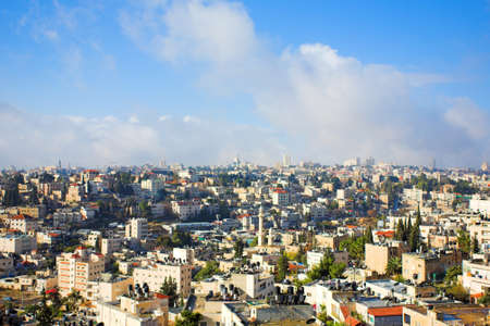 City panorama, Jerusalem, Israel Stock Photo