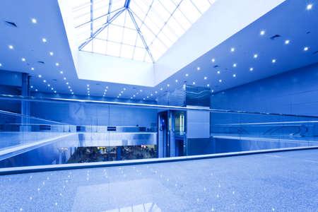 komercyjnych: Centrum pusty pakiet office na niebiesko z fifts i Schody