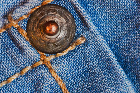 zigzagger: Metal stave on jeans macro