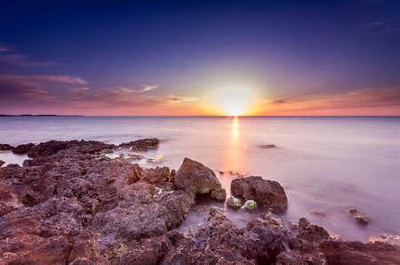 prodigious: very prodigious marine sunset photo