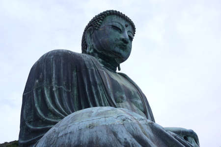Gautama Buddha statue in Japan Stock Photo