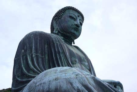 gautama: Gautama Buddha statue in Japan Stock Photo