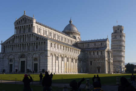 Leaning Tower of Pisa , Italy  Famous landmark