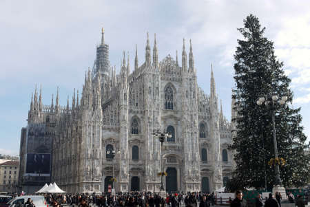 Milan Cathedral Italy Europe Stock Photo - 27963951