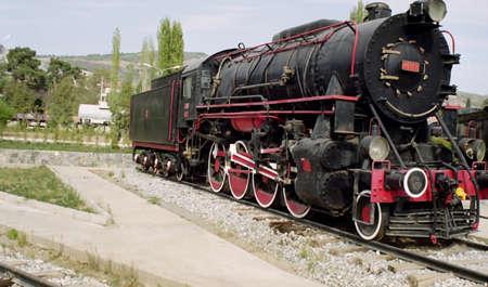 Old Turkish Steam Locomotive