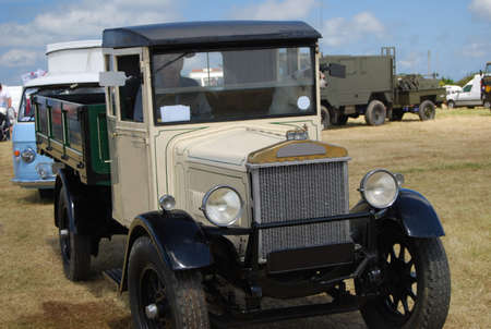 An Old Truck at a Vintage Rally Stock Photo - 9178975