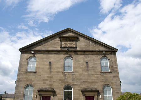 West Lane Baptist Church was built in 1752 and is still a working church in Haworth Stock Photo - 9762194