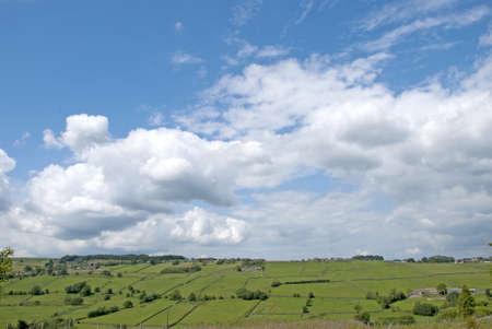 View of Moorland near Haworth West Yorkshire the Bronte Country Stock Photo - 9877054