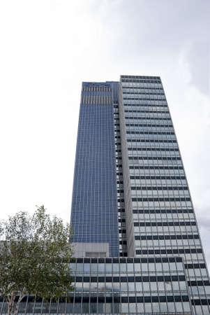 Two Glass Skyscraper Blocks photo