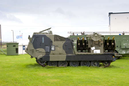 ballistic: A Tracked Army Missile Launching Vehicle