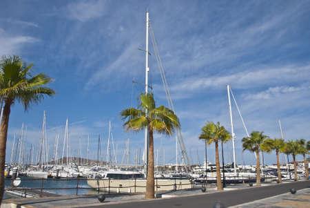 The Marina at Playa Blanca Lanzarote