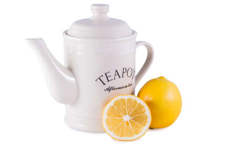 Teapot and Lemon photo