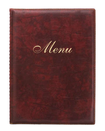 red leather: Menu