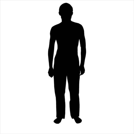 sexual activity: Silhouette of the person